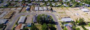 Browns Plains Estate Aerial View