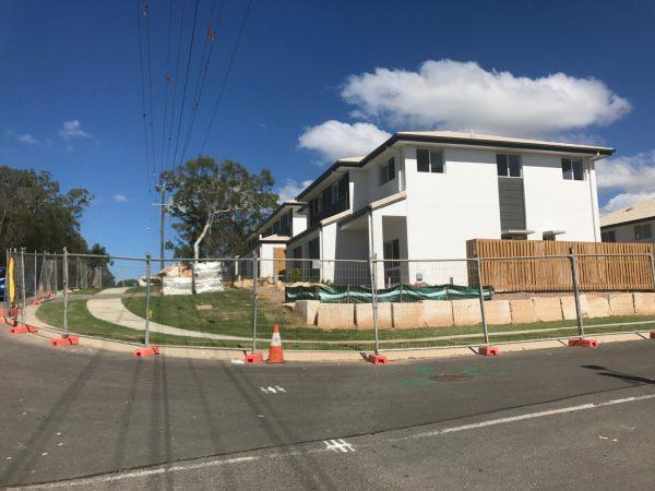 Benhiam Street Construction Progress
